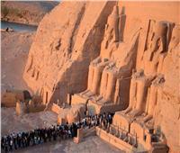 بمشاركة 8 فرق فنون شعبية.. أسوان تحتفل بتعامد الشمس على رمسيس الثاني