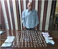 ضبط أخطر تاجر مخدرات بإمبابة بحوزته 140 لفافة هيروين