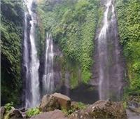 شاهد| شلالات إندونيسيا.. أروع مكان لالتقاط الصور