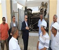محافظ قنا: الإنتهاء من تنفيذ 95% من الأعمال بمشروع الصرف الصحي بنقادة