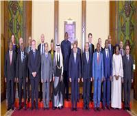 الرئيس يستقبل رؤساء الوفود المشاركة في فعاليات أسبوع القاهرة الثاني للمياه