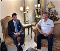 استمرار اجتماع وزير الرياضة مع محمود الخطيب.. واتجاه لتأجيل مباراة الجونة