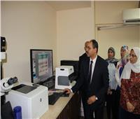 افتتاح مقر الإدارة العامة لأبحاث التزييف والتزوير بوزارة العدل