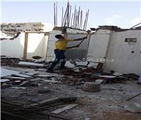 حملات مكبرة على البناء المخالف ومصادرة المعدات بأحياء الإسكندرية