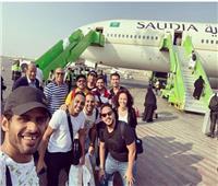 فريق مسرح مصر يسافر إلى الرياض