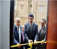 محافظ القليوبية يفتتح مركز خدمة تموين جديد بمدينة بنها