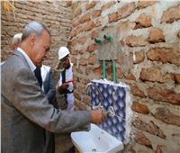 تأهيل 121 منزلا وتركيب وصلات مياه وصرف صحي لـ 4040 منزلا بقنا
