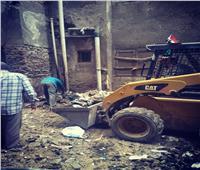 حملة نظافة بشوارع مدينة قها بالقليوبية