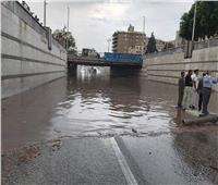 أول تعليق من الأرصاد الجوية بعد سقوط الأمطار وغرق الشوارع