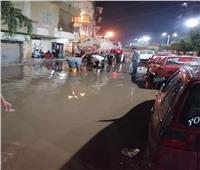 صور| «شبرا الخيمة والعبور وشبين».. مدن كشفت فشل القليوبية في مواجهة الأمطار