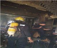 صور| السيطرة على حريق شقة سكنية بالجيزة.. ولا إصابات