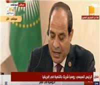 الرئيس السيسي يشيد بالعلاقات الثنائية بين مصر وروسيا