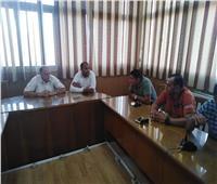 «جهاز دمياط الجديدة» يبحث مع ممثلي المجتمع المدني مطالب سكان المدينة