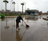 أمطار رعدية على دمياط.. وانتظام حركتي الملاحة والصيد