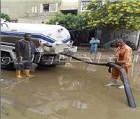 رئيس مدينة شبين القناطر: شفط مياه الأمطار على مدار اليوم