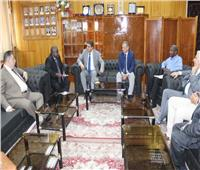 جامعة طنطا تفتح أبوابها للتعاون مع دول القارة السمراء وإشادة نيجيرية بالمستشفيات