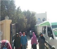 توقيع الكشف الطبي على 1577 مريضا من خلال قافلة طبية بقرية أبو الشقاف