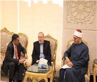 أمين «البحوث الإسلامية» يلتقي وفدًا من منظمة الصحة العالمية