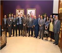 «ميناء دمياط» يستقبل وفدا من غرفة التجارة الإيطالية لبحث التعاون المشترك