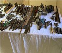 «الأمن العام» يداهم ورش لتصنيع وإصلاح الأسلحة النارية بأسيوط
