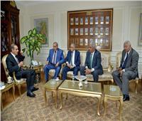 محافظ أسيوط يلتقي رئيس جامعة الازهر لدعم المشروعات القومية والتنموية