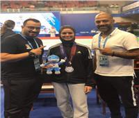 بطلة التايكوندو نور حسين: فضية الألعاب العسكرية حافز قوي لميدالية أوليمبية