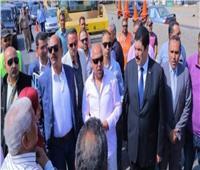 وزير النقل يتفقد كباري كفر شكر بالقليوبية اليوم
