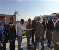 صور| وزير الطيران يتفقد مطار شرم الشيخ لمتابعة الاستعدادات للموسم الشتوي