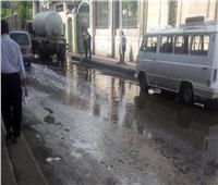 أمطار غزيرة على أماكن متفرقة في الجيزة