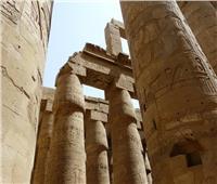 حقيقة تشوه بعض آثار معبد «الكرنك» إثر اندلاع حريق في محيطه