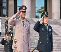 وزير الدفاع يعود للقاهرة قادما من الصين بعد زيارة رسمية