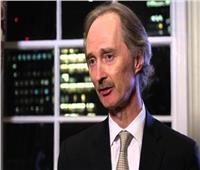 المبعوث الأممي لسوريا: وقف إطلاق النار في شمال سوريا صامد