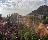 مليون متظاهر يحتشدون بشوارع سانتياجو عاصمة تشيلي