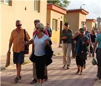 المناطق الاثرية بالمنيا تستقبل وفدًا سياحيًا من 3 جنسيات
