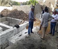 رفع 111 حالة إشغال وتعد على الأراضي الزراعية بمركز بني مزار في المنيا