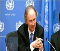 المبعوث الأممي إلى سوريا يلتقي بوزراء خارجية تركيا وإيران وروسيا غدا
