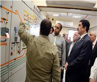 محافظ القليوبية يتفقد المشروعات القومية بمدينة الخانكة