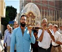 رفات القديسة «تريزا» تزور إيبارشية المنيا