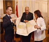 مصر تستعيد أطلس سديد الأثري من ألمانيا وتسلمه لوزارة الثقافة