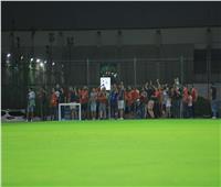 خاص  جماهير الأهلي تكسر حظر التدريبات وتشد من أزر اللاعبين بمعسكر دبي