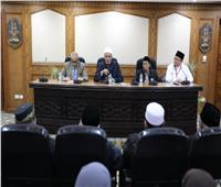 وكيل الأزهر يستقبل وفد علماء مسلمي«سومطرة الشمالية» بإندونيسيا