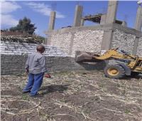 إزالة 12 حالة تعد على الأراضي الزراعية بأسيوط