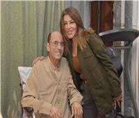 سميرة سعيد تزور الموسيقار جمال سلامة بعد تعرضه لأزمة صحية| صور