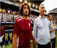 عمرو وردة أساسيًا مع لاريسا أمام أوفي كريت في الدوري اليوناني