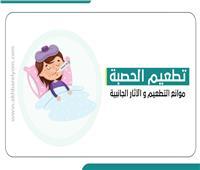 إنفوجراف| «الحصبة».. موانع التطعيم والآثار الجانبية
