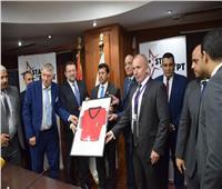 وزير الرياضة يشهد توقيع بروتوكول المشروع القومي لاكتشاف المواهب في كرة القدم
