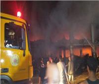 خاص| مصدر أمني يكشف سبب حريق مصنع الدراجات النارية بقليوب