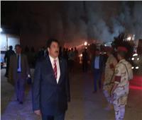 قرار هام من محافظ القليوبية بعد حريق «مصنع قليوب»