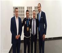 مساعدا وزير الرياضة يستقبلان «كيشو» بعد ذهبية بطولة العالم