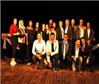 صور| المؤتمر الصحفي للعرض المسرحي «رسائل العاشقين»